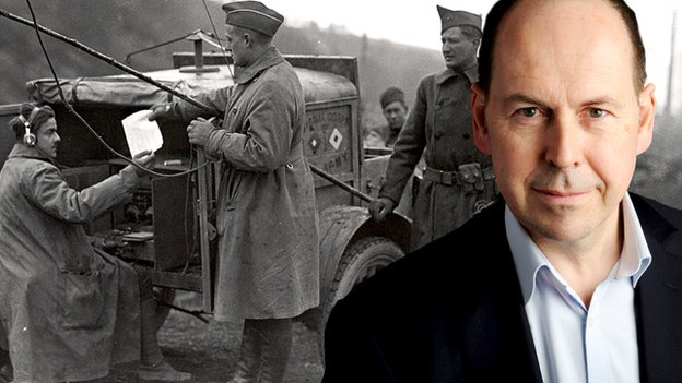 Rory Cellan-Jones and a WW1 mobile radio station