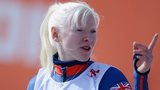 Kelly Gallagher after her gold-medal triumph on Monday
