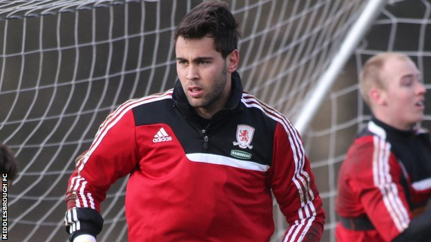Middlesbrough Tomas Mejias