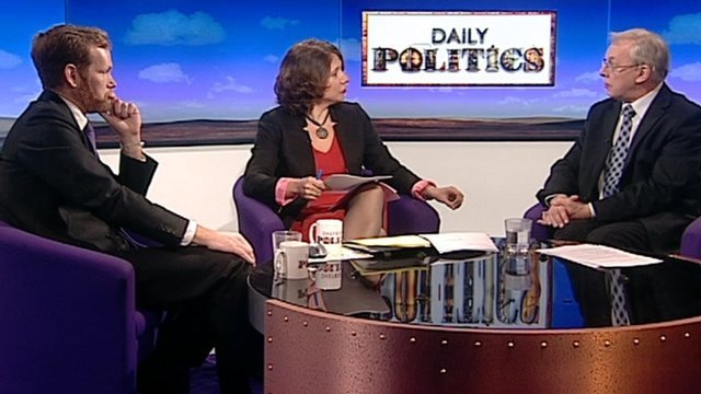Jeremy Brown, Jo Coburn and Michael Brown