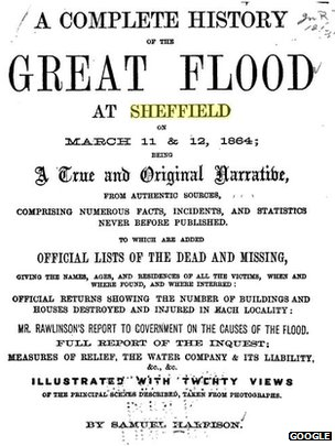 A Complete History of The Great Flood at Sheffield, by Samuel Harrison