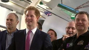 Prince Harry at River and Rowing Museum