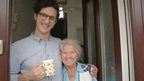 Dan Croll and his Grandmother