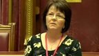 June McMullin addresses Stormont committee