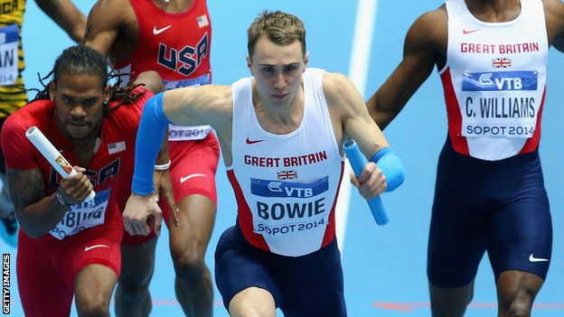 Jamie Bowie takes the baton from Conrad Williams