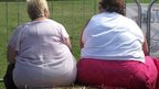 Two overweight woman