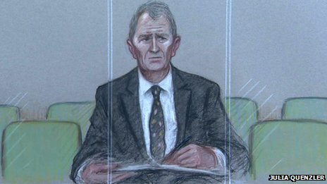 MP Nigel Evans court sketch