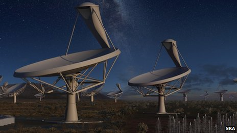 Square Kilometre Array Antennae