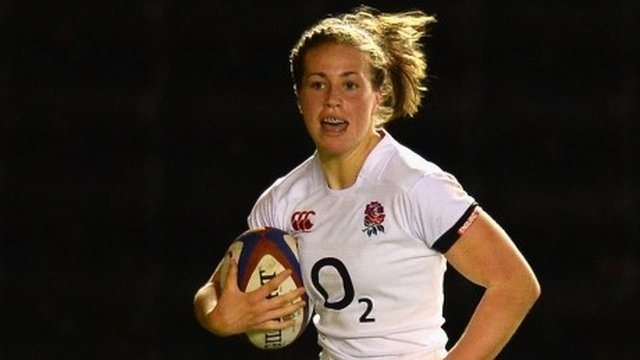 England fullback Emily Scarratt scores 17 points as Wales suffer their fourth straight defeat.