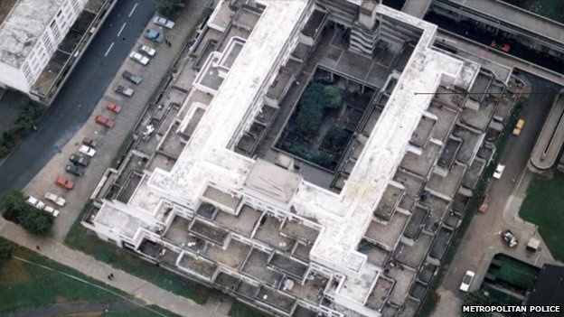 Aerial photograph of the Broadwater Farm estate