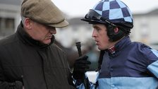 Trainer Donald McCain & jockey Jason Maguire
