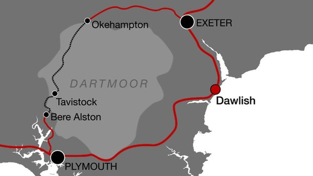 Dartmoor route