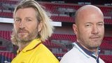 Robbie Savage and Alan Shearer