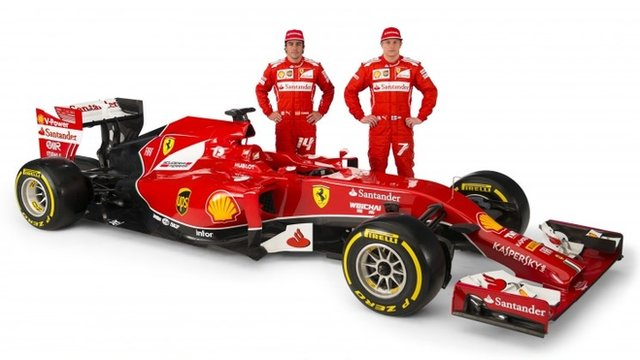 Fernando Alonso and Kimi Raikkonen will be Ferrari's drivers for 2014