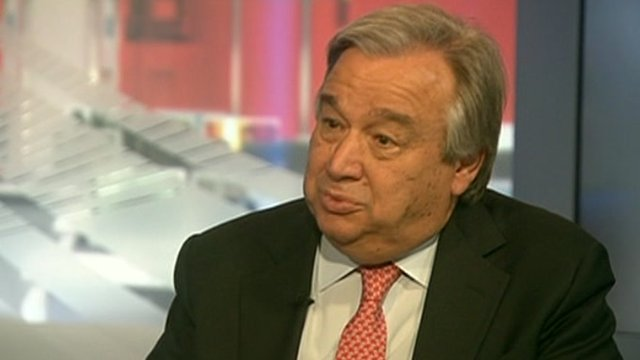 Antonio Guterres on World New America