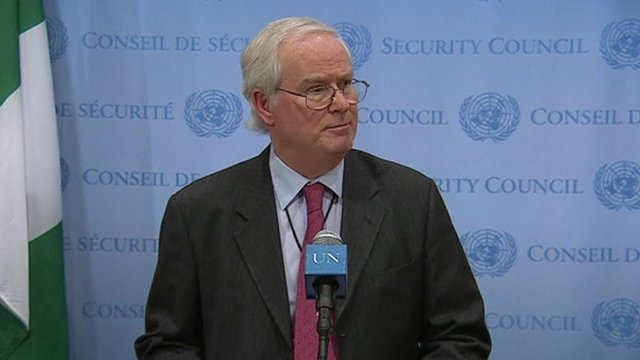 Mark Lyall Grant, UK Ambassador to the United Nations