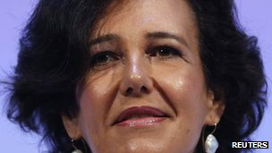 Chief Executive of Santander UK Ana Botin
