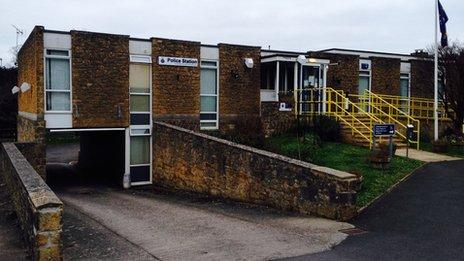 Sherborne Police station