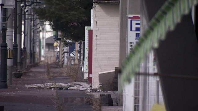 A deserted street