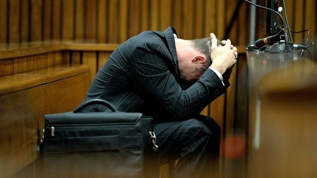 Oscar Pistorius in court on Monday