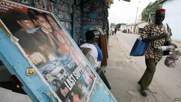 Films sold Nigeria (archive shot)