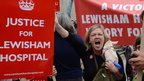 save Lewisham hospital campaign