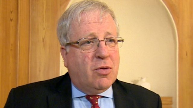 Patrick McLoughlin paying tribute to Bob Crow