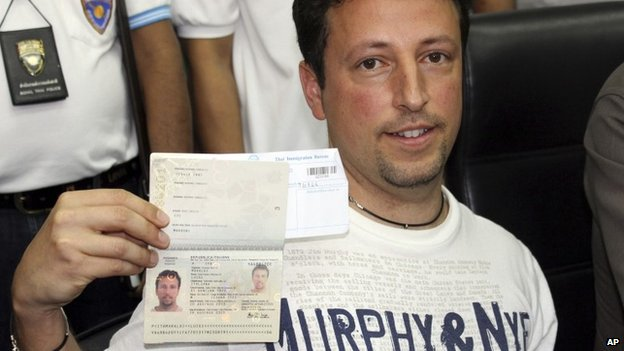 Italian Luigi Maraldi, whose stolen passport was used by one of the Iranians onboard MH370