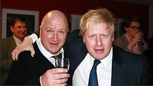 Bob Crow and Boris Johnson