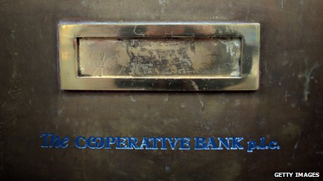 Cooperative bank post box