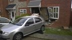 Car in house, Heybridge