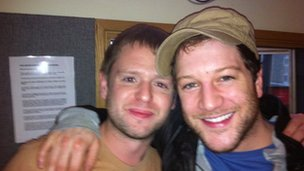 Richard Spurr and Matt Cardle