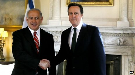Cameron in first Israel visit as PM...