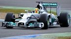 BBC team feel Lewis Hamilton can win the 2014 Formula 1 title