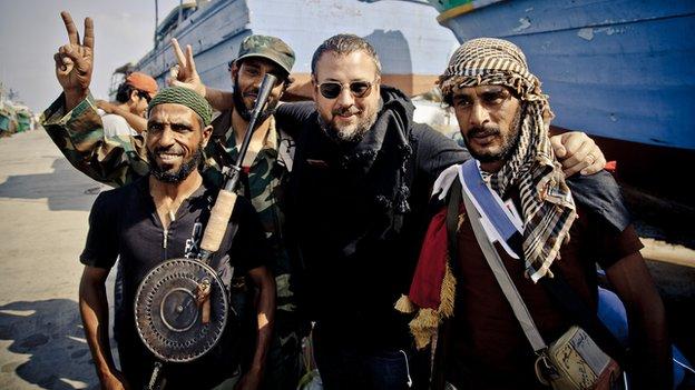 Shane Smith in Libya