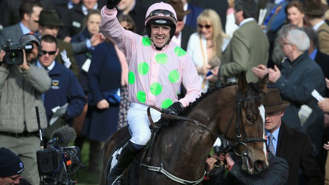Ruby Walsh after winning on Vantour