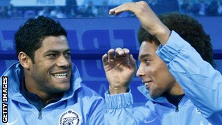 Hulk and Axel Witsel