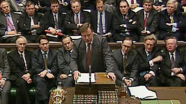 Ken Clarke as chancellor