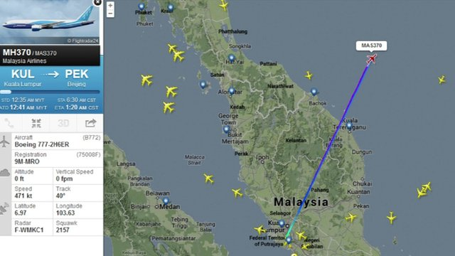 Flightradar24.com map