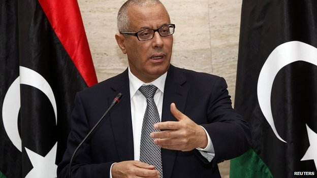 Libya ex-PM Zeidan 'leaves country'