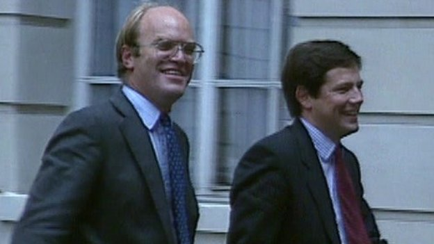 David Reed (left) and Nicholas Wells (right) had their suspended sentences overturned by the Court of Appeals