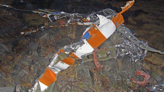 Fossett plane wreckage
