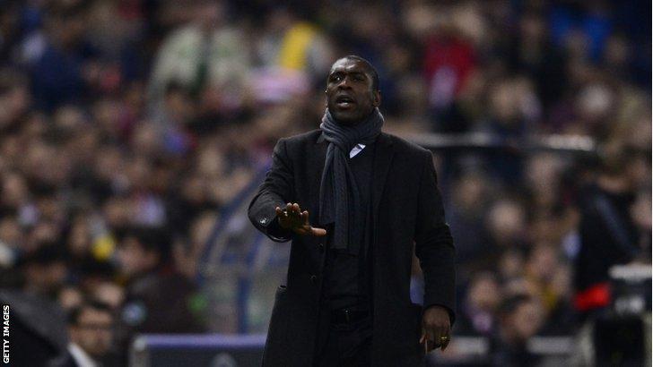 AC Milan boss Clarence Seedorf