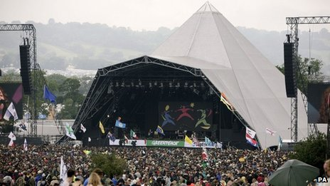 Glastonbury given 10-year licence...