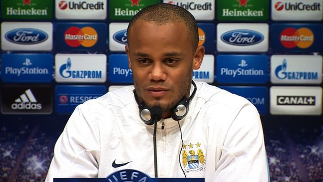 Manchester City captain Vincent Kompany believes his side can beat Barcelona