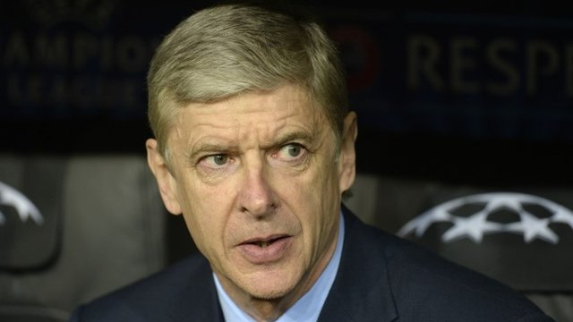 Arsenal boss Arsene Wenger is disappointed his side did not take their chances against Bayern