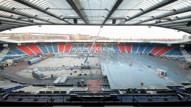 Hampden athletics venue unveiled...