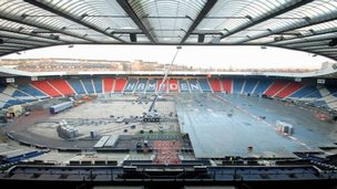 work at Hampden