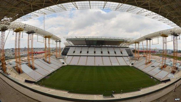 Arena Corinthians, 16 Dec 13