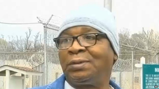 US death row man free after 25 years...